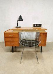 Vintage Dutch design writing desk bureau sixties 'minimalism'