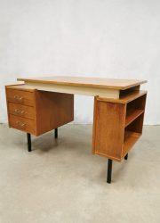 Vintage Dutch design writing desk sixties bureau