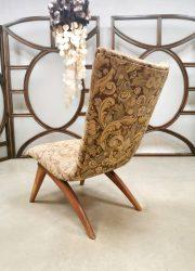Dutch design G. Van Os fauteuils vintage Culemborg lounge chair