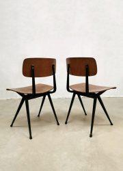Dutch Friso Kramer vintage design Ahrend de Cirkel Result chair industrial industrieel stoel
