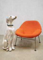 Dog vintage hond Italiaans Italian design dog statue beeld