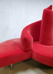 Italian design lounge sofa bank Tatlin Mario Cananzi Edra Roberto Semprini