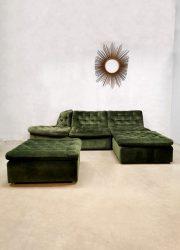 Vintage modular sofa elementen bank modulaire bank