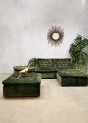 Modular vintage elements modulaire elementen sofa bank velvet