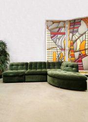 Modular vintage sofa modulaire elementen bank velvet