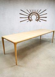 Eetkamertafel eettafel dining table Latus Czech vintage design Artisan