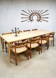 Vintage Czech design Latus dining table eetkamertafel Artisan