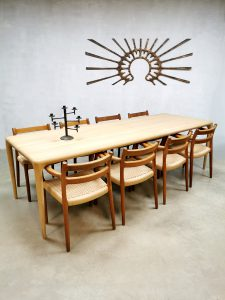 Vintage Czech design Latus dining table eetkamertafel Artisan