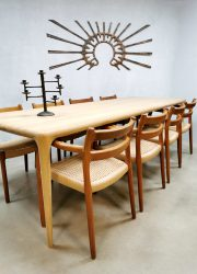 Artisan dining table vintage design Czech Latus eettafel tafel