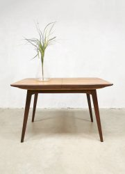 Eetkamertafel Webe Dutch vintage design Louis van Teeffelen dining table tafel