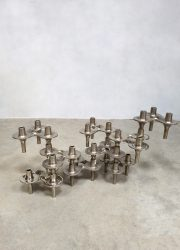 midcentury design kandelaar Nagel Orion candle holders