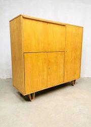 midcentury modern wandkast cabinet Dutch design jaren 50 fifties