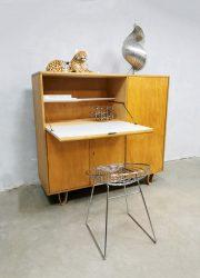 Vintage Dutch design secretaire kast cabinet Pastoe Cees Braakman CB01