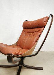midcentury Scandinavian seventies lounge chair Falcon Sigurd Ressel