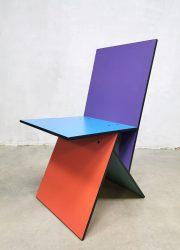 Ikea vintage Vilbert design chail Verner Panton stoel