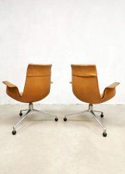 Vintage design Tulip office chair bureaustoel Kill international