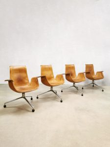 Vintage design Tulip office desk chair bureaustoel Kill international