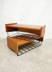 Vintage floating nightstands cabinets zwevende nachtkastjes 2