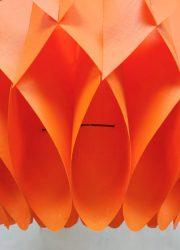 midcentury pendant Lars Schioler butterfly lamp