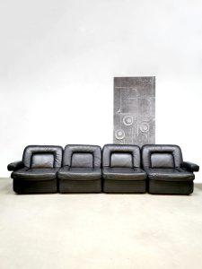 Vintage design modular sofa modulaire bank seventies