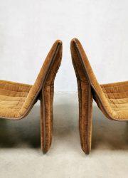 1970 vintage Dutch design chairs lounge fauteuils