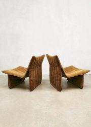 jaren 70 fauteuils lounge chairs Dutch design