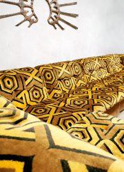 Vintage retro modular lounge sofa modulaire bank seventies pattern jaren 70 dessin