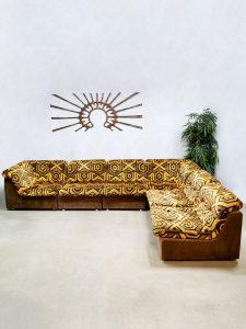 Lounge elementen modulaire lounge sofa vintage modular seventies bank