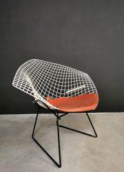 vintage diamond chair Knoll Bertoia 421