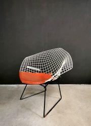 vintage Bertoia diamond chair Knoll International