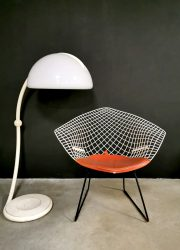 Vintage design diamond chair Harry Bertoia fauteuil 421 Knoll