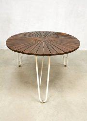 Daneline Danish teak lounge midcentury vintage gardenset lounge chair stoel tuinset table tafel Danish teak Deens vintage