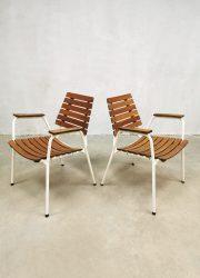 Vintage design tuinset outdoor tafel stoel diningset outdoor Daneline Denmark diningset