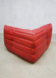Ligne Roset lounge hoek bank stoel Michel Ducaroy French vintage design corner sofa midcentury
