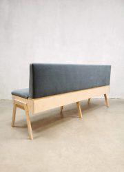 klepbank dining couch Bestwelhip blue velvet