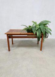 Vintage Danish design sidetable plant table bijzettafel plantentafel