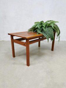 Vintage Danish design sidetable plant table Deense bijzettafel plantentafel