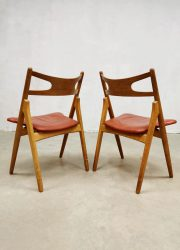Danish Hans Wegner chairs dining chairs CH29