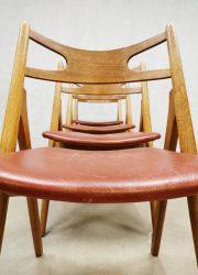 Hans Wegner eetkamerstoelen Danish design dining chairs CH29