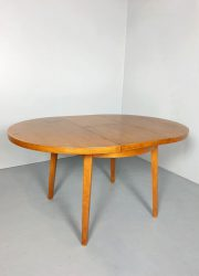 Vintage Dutch design dining table G. van os eetkamer tafel fifties jaren 50