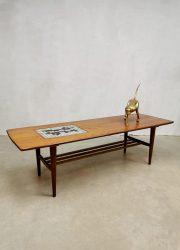 Vintage coffee table salontafel Louis van Teeffelen Webe Ravelli tile
