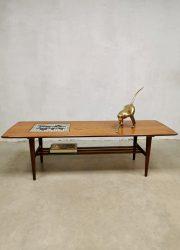 Webe teak salontafel coffee table midcentury design