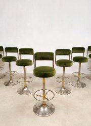 Zweeds vintage design Johanson design barkrukken barstools