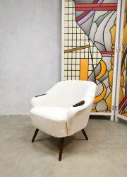 Vintage design armchair cocktail chair 'Teddy'