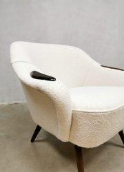 Lounge fauteuil teddy cocktail chair armchair vintage design Danish