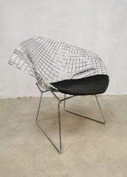 vintage design draadstoel Knoll wire chair