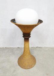 Seventies floorlamp Doria Leuchten vintage ceramic vloerlamp keramisch jaren 70
