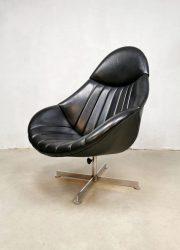 vintage mad men style chair Rudolf Wolf Rohe Noordwolde