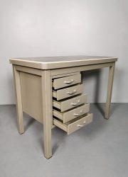 Office writing desk Backfield vintage bureau industrial Kampen midcentury industrieel