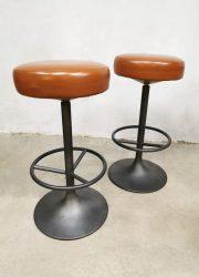 industriele vintage barkrukken bar stools industrial design